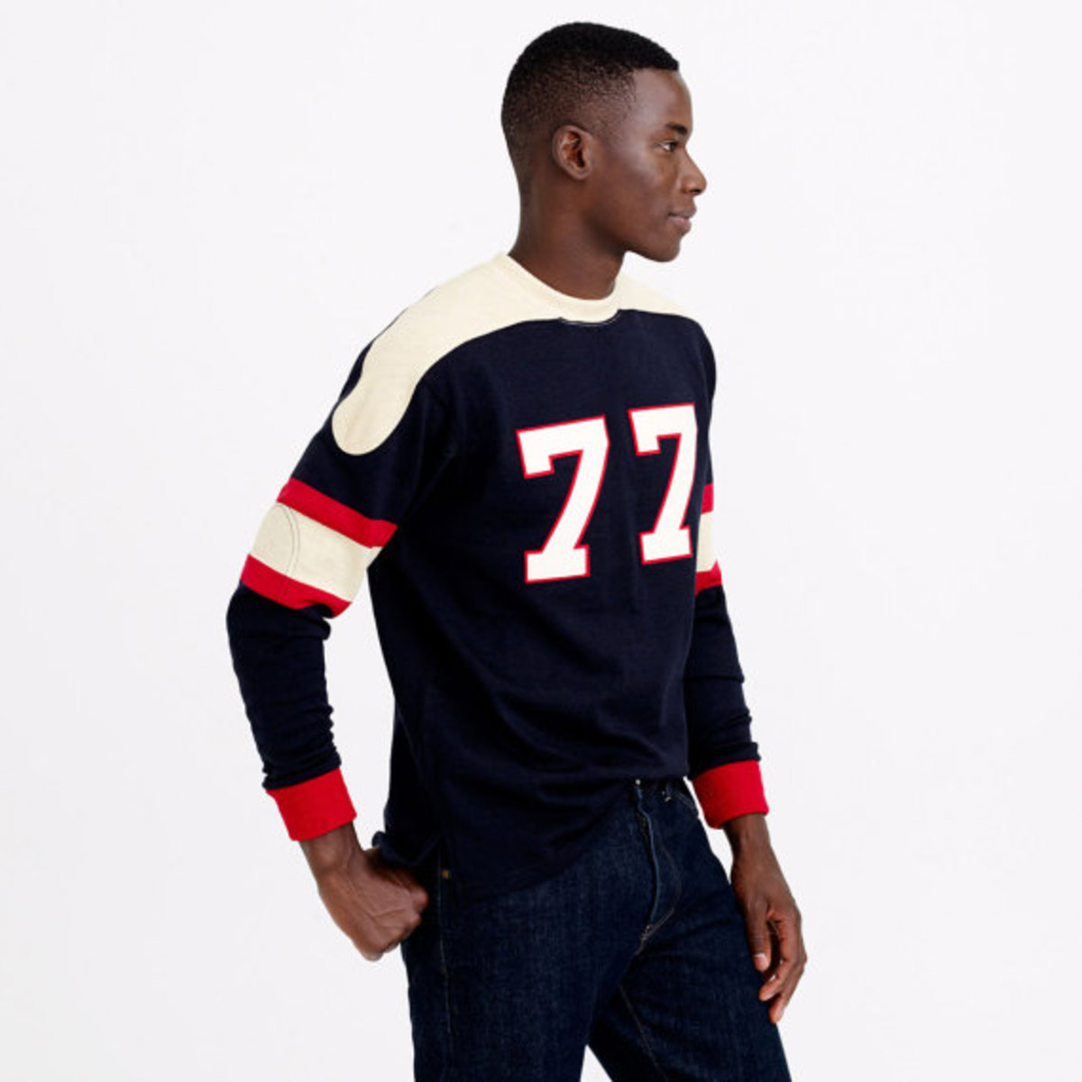 Ebbets Field Flannels Vintage Knit Football Jersey Collection | J.Crew Exclusive - 0