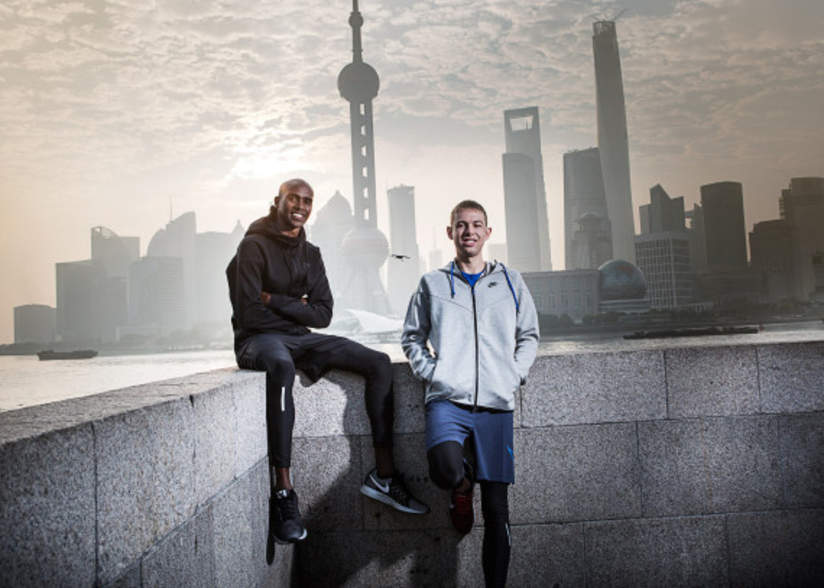 Nike Zoom Air - 2014 Greater China Media Summit with Mo Farah and Galen Rupp - 1