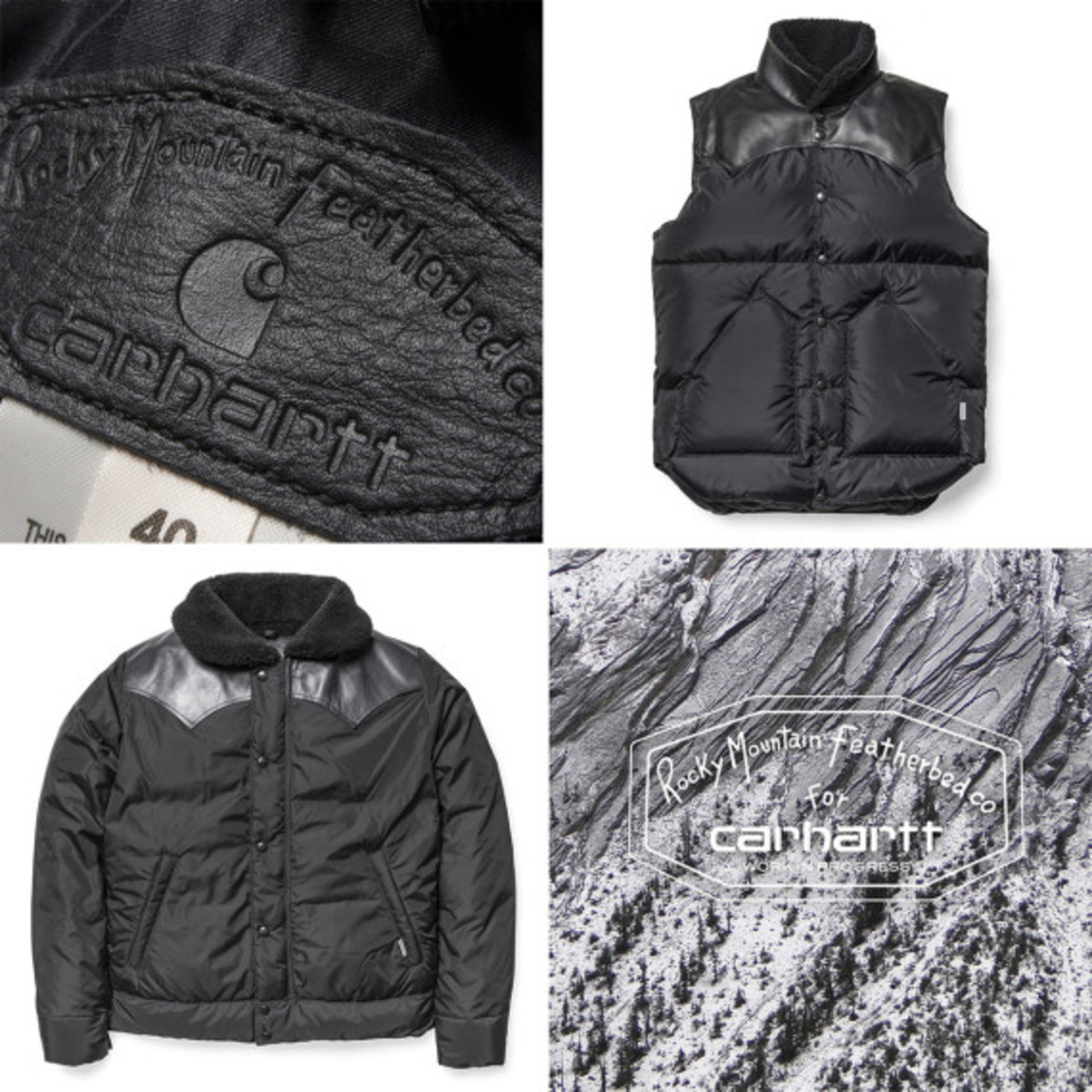 "Carhartt WIP x Rocky Mountain Featherbed - ""Christy"" Down Outerwear Collection - 0"