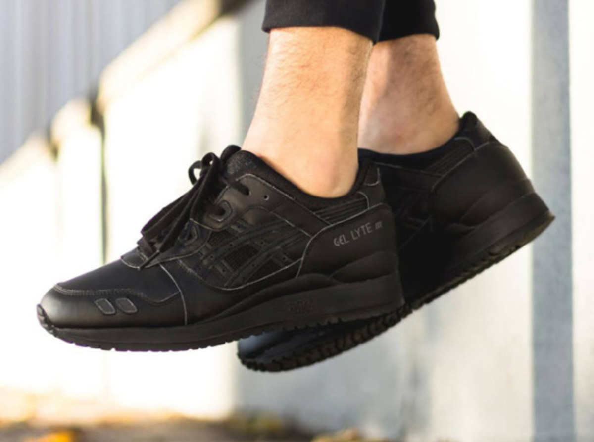 "ASICS Gel Lyte III - ""Triple Black"" - 4"
