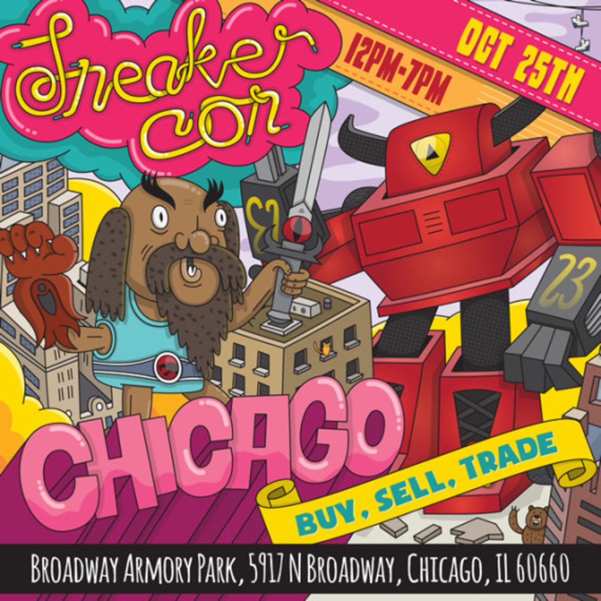 Sneaker Con Chicago – October 25th, 2014 | Event Reminder - 0