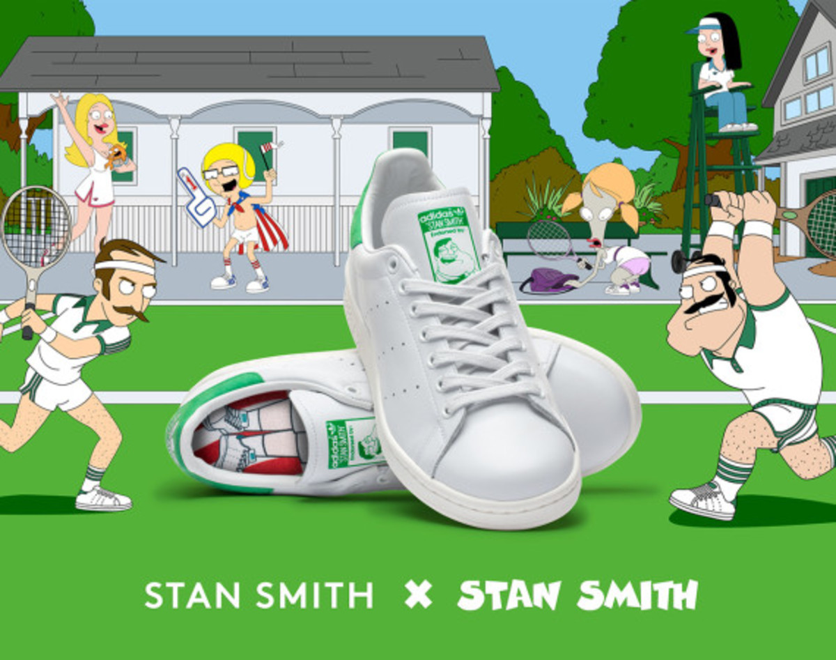 American Dad! collaborates with adidas Originals for Stan Smith x Stan Smith | Another Look - 0