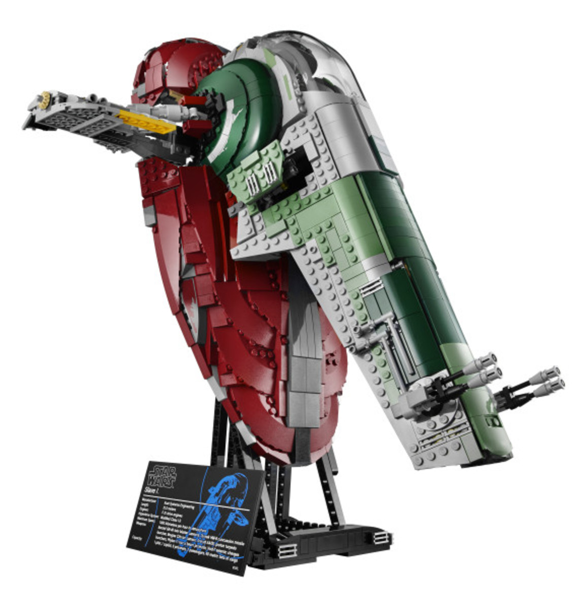 Star Wars x LEGO Ultimate Collector's Series: Boba Fett's Slave I Kit | Release Info - 20