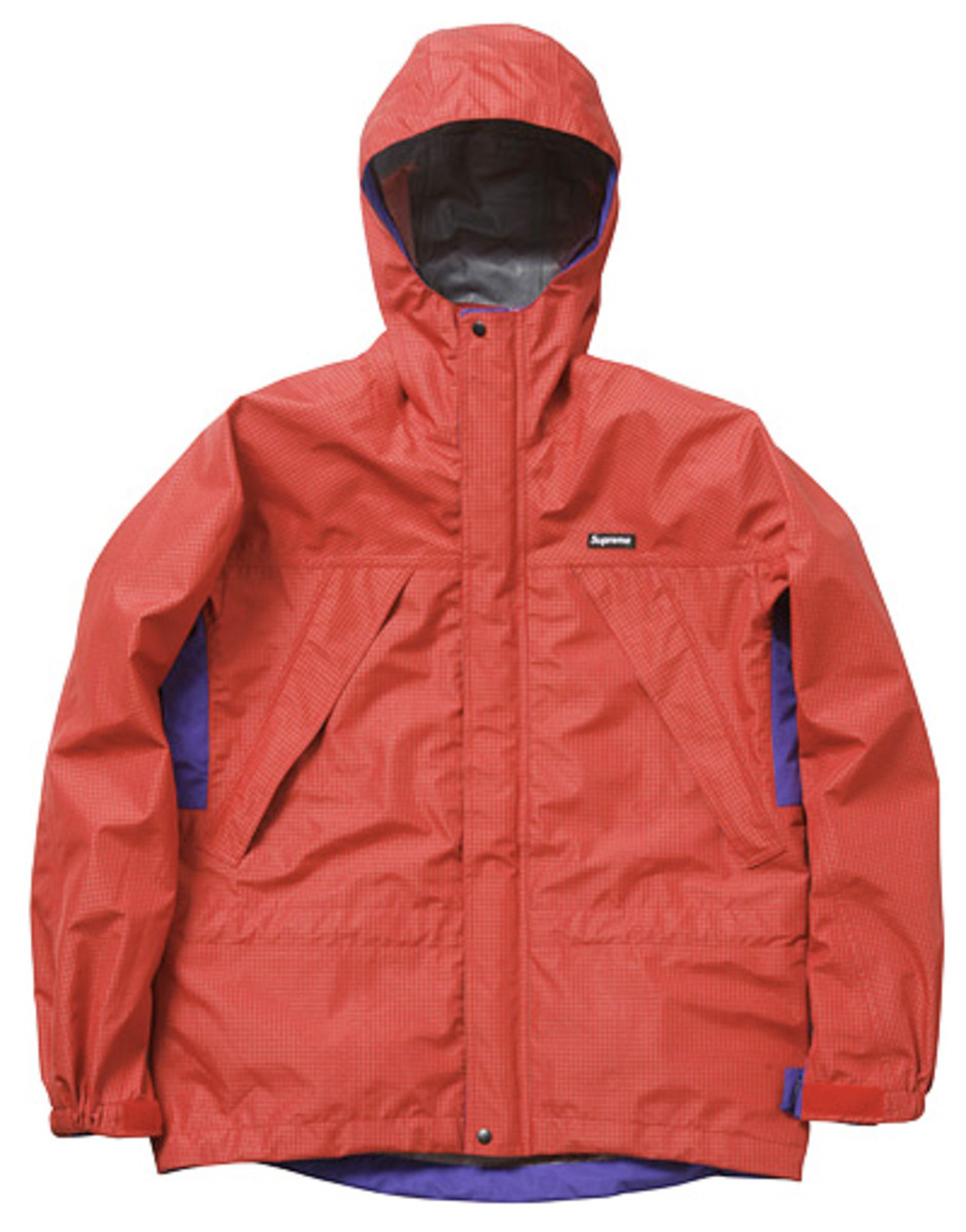 Supreme - Fall/Winter 2009 Collection - Waterproof Rip Stop Parka