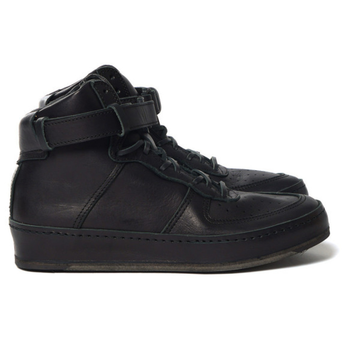 Hender Scheme - Manual Industrial Products 01 Black: Inspired by Nike Air Force 1 High - 6