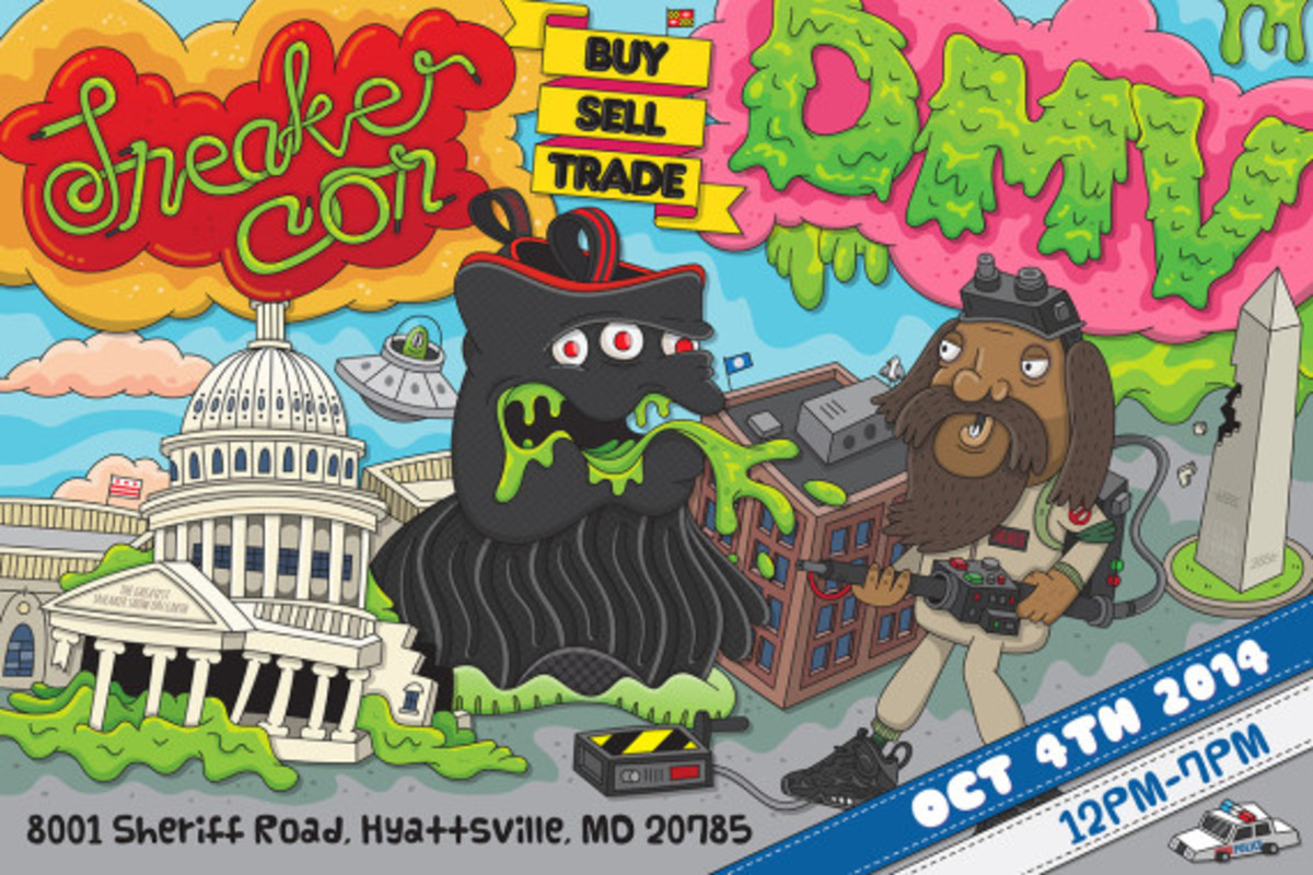 Sneaker Con Washington DC/DMV – Saturday, October 4th, 2014 - 1