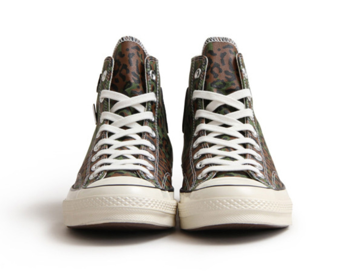 """CONCEPTS x CONVERSE Chuck Taylor All Star Hi 1970s - """"Zaire Leopard Camo"""" 