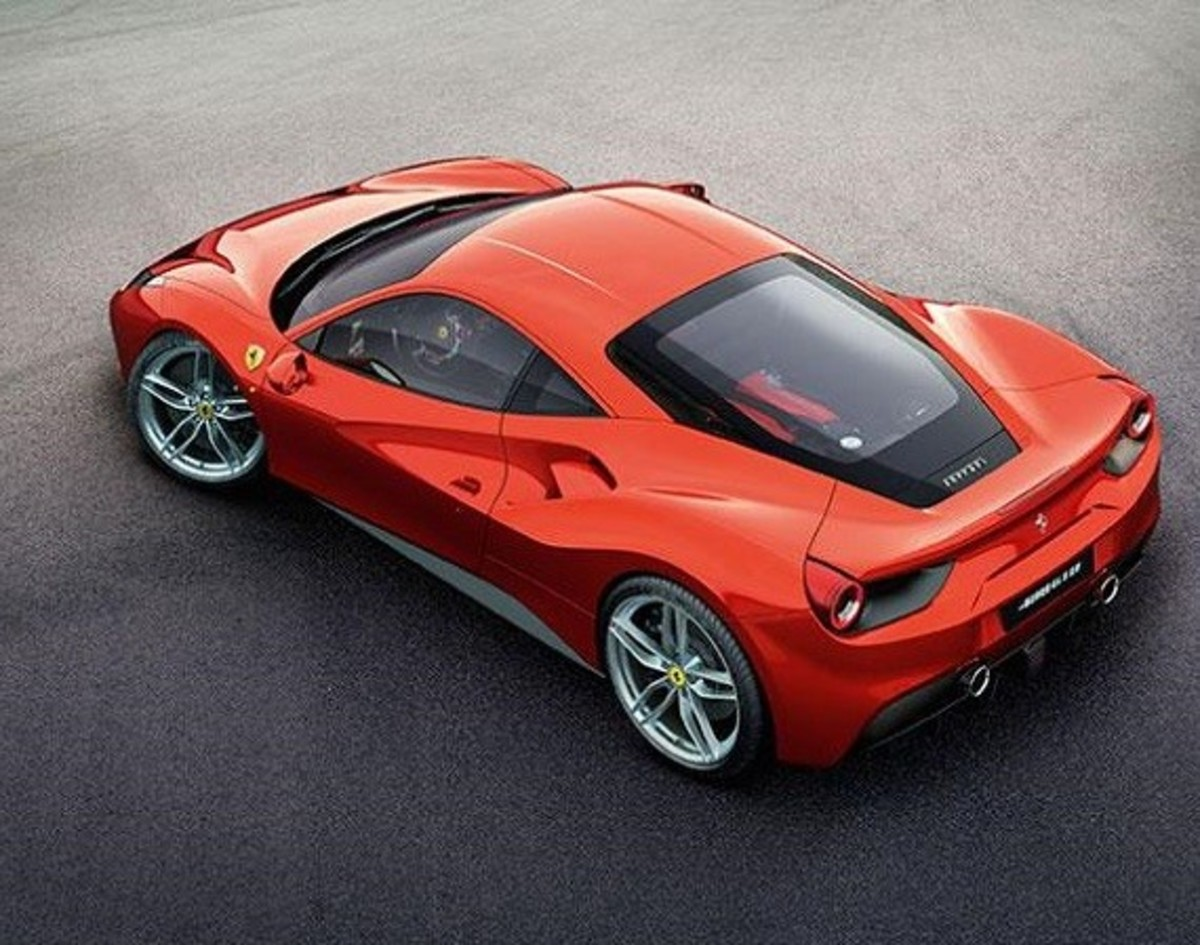 Ferrari 488 GTB Unveiled with Twin-turbo V8 - 0