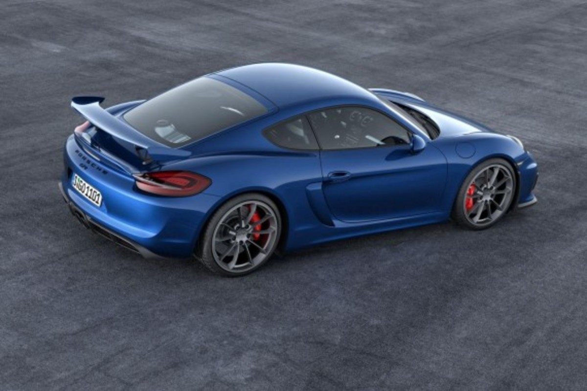 Porsche Cayman GT4 Unveiled with 385-HP - 8