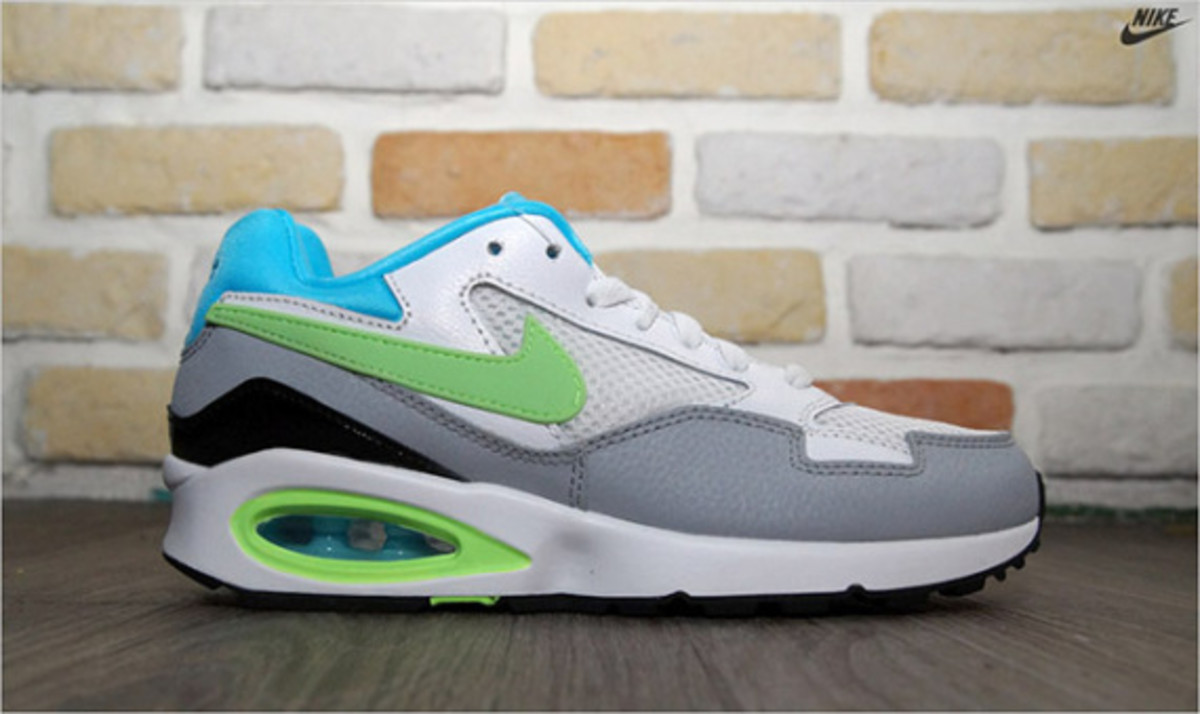 Nike Air Max ST - White/Clearwater/Flash Lime/Wolf Grey - 2