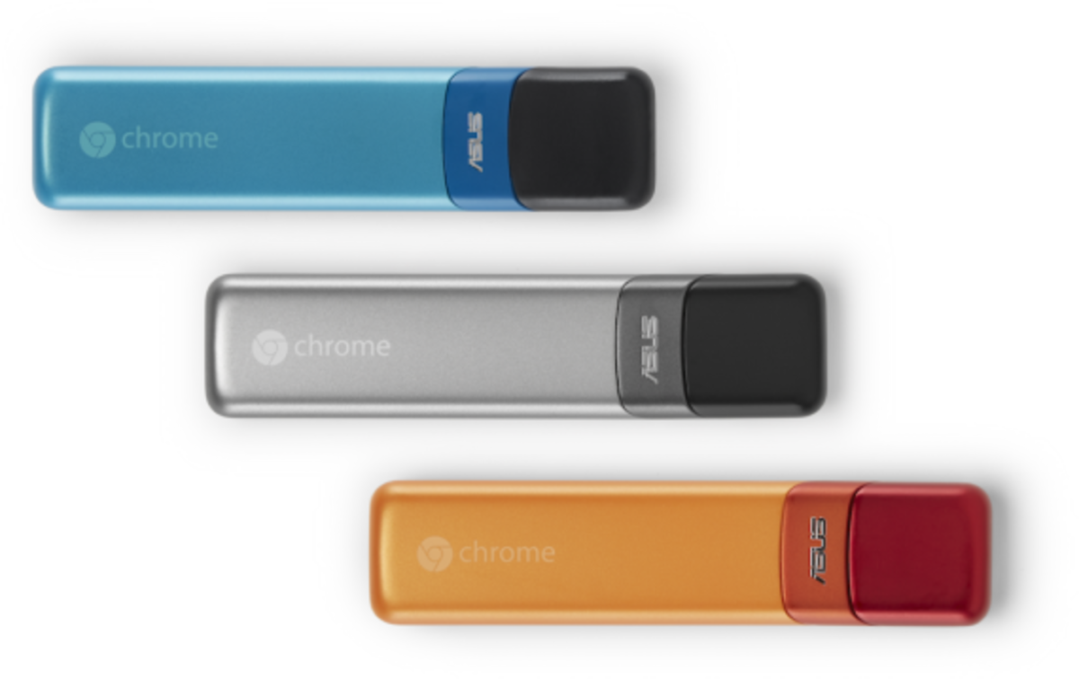 ASUS Google Chromebit - Turns Any Device into a Chrome PC - 1