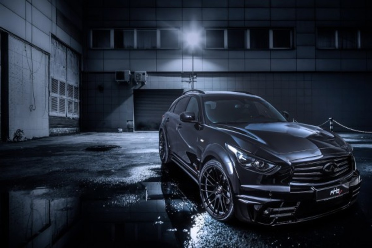 Infiniti QX70 LR3 Wide Body Tuned by AHG-Sports - 2