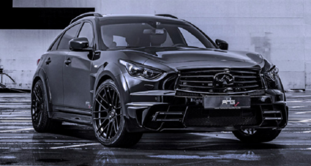 Infiniti QX70 LR3 Wide Body Tuned by AHG-Sports - 1