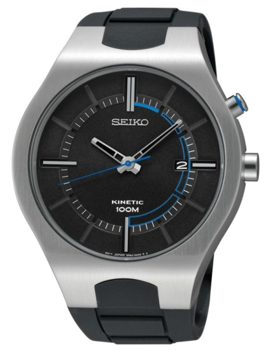 Seiko Recraft Kinetic Watches - 1
