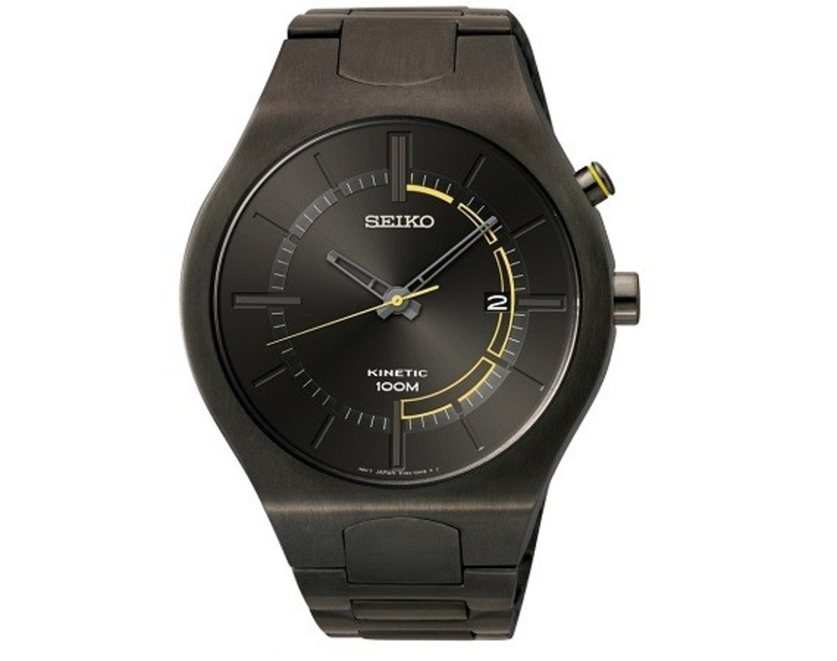 Seiko Recraft Kinetic Watches - 0