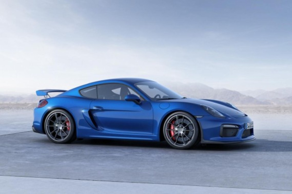 Porsche Cayman GT4 Unveiled with 385-HP - 7