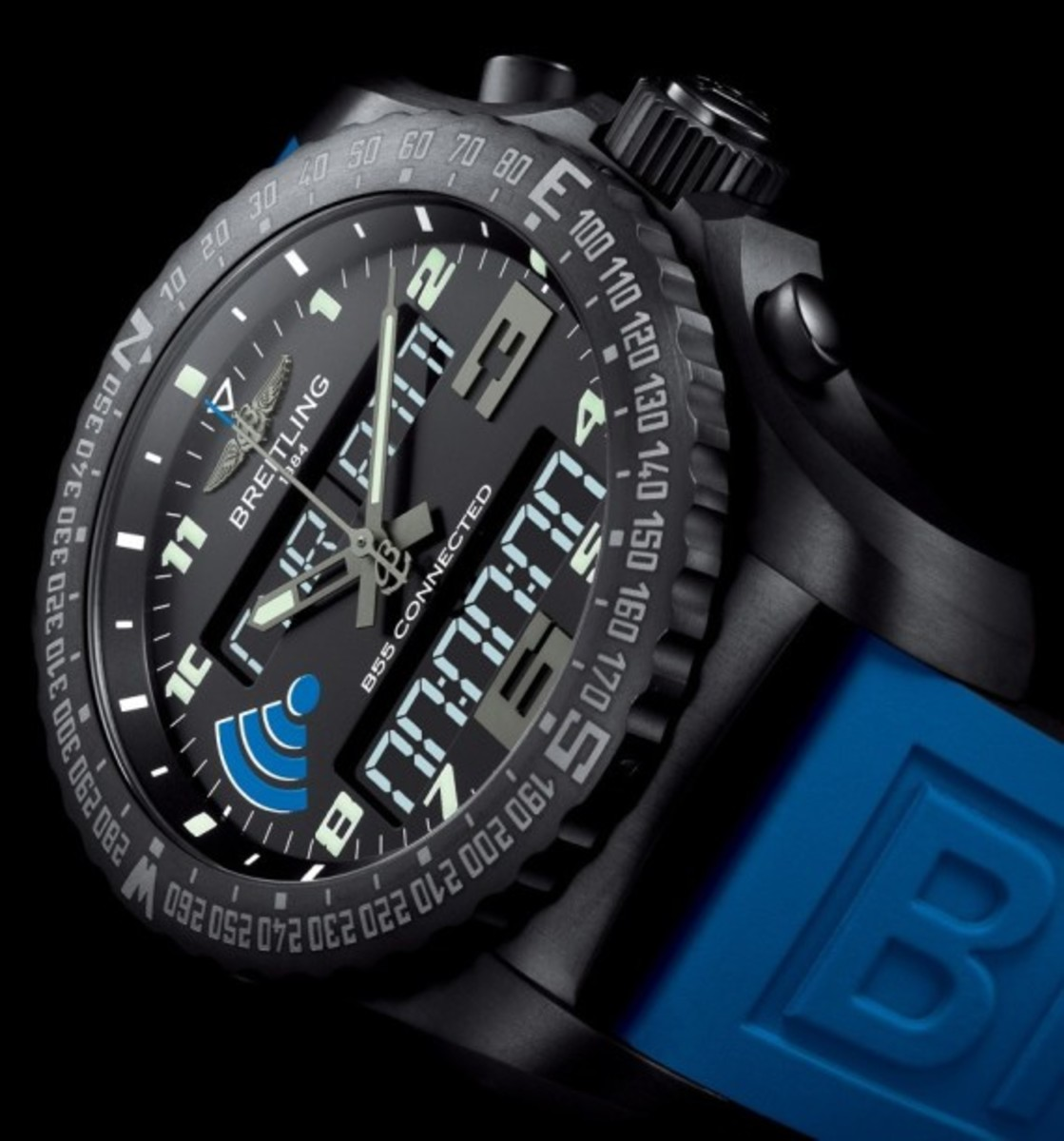 Breitling B55 Connected Watch Pairs with your Phone - 1