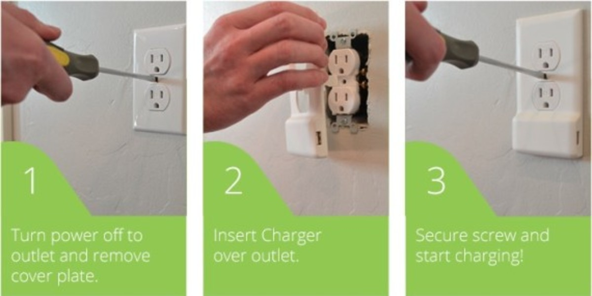 SnapPower -  One Screw Turns Any Outlet into a USB Port - 4