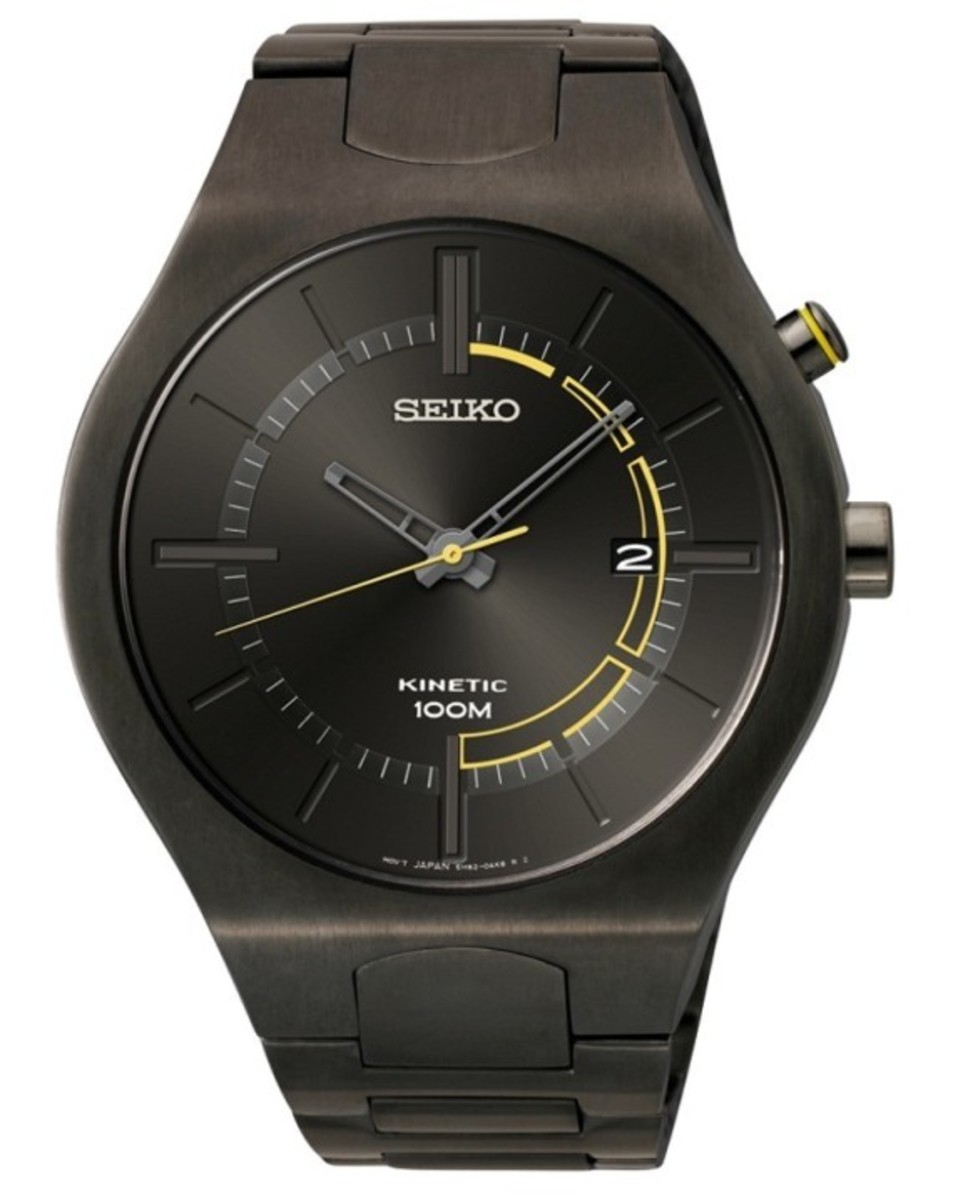Seiko Recraft Kinetic Watches - 2