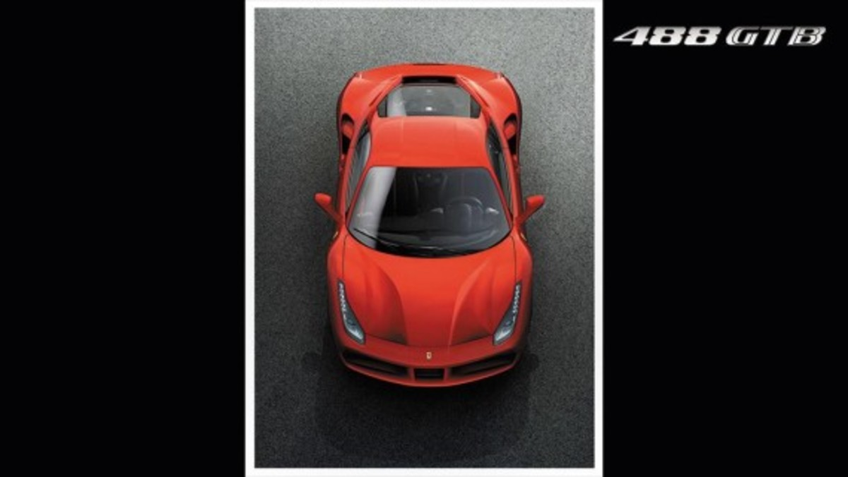 Ferrari 488 GTB Unveiled with Twin-turbo V8 - 6