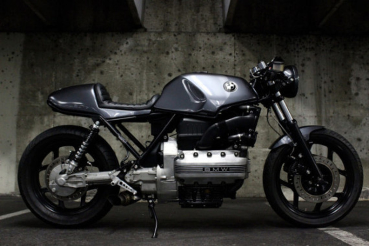 Custom BMW K100 Cafe Racer by Jeff Veraldi - 2