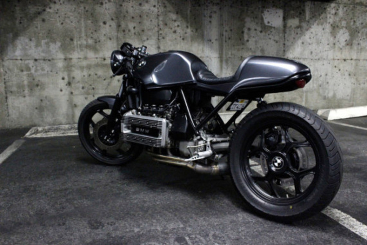 Custom BMW K100 Cafe Racer by Jeff Veraldi - 4