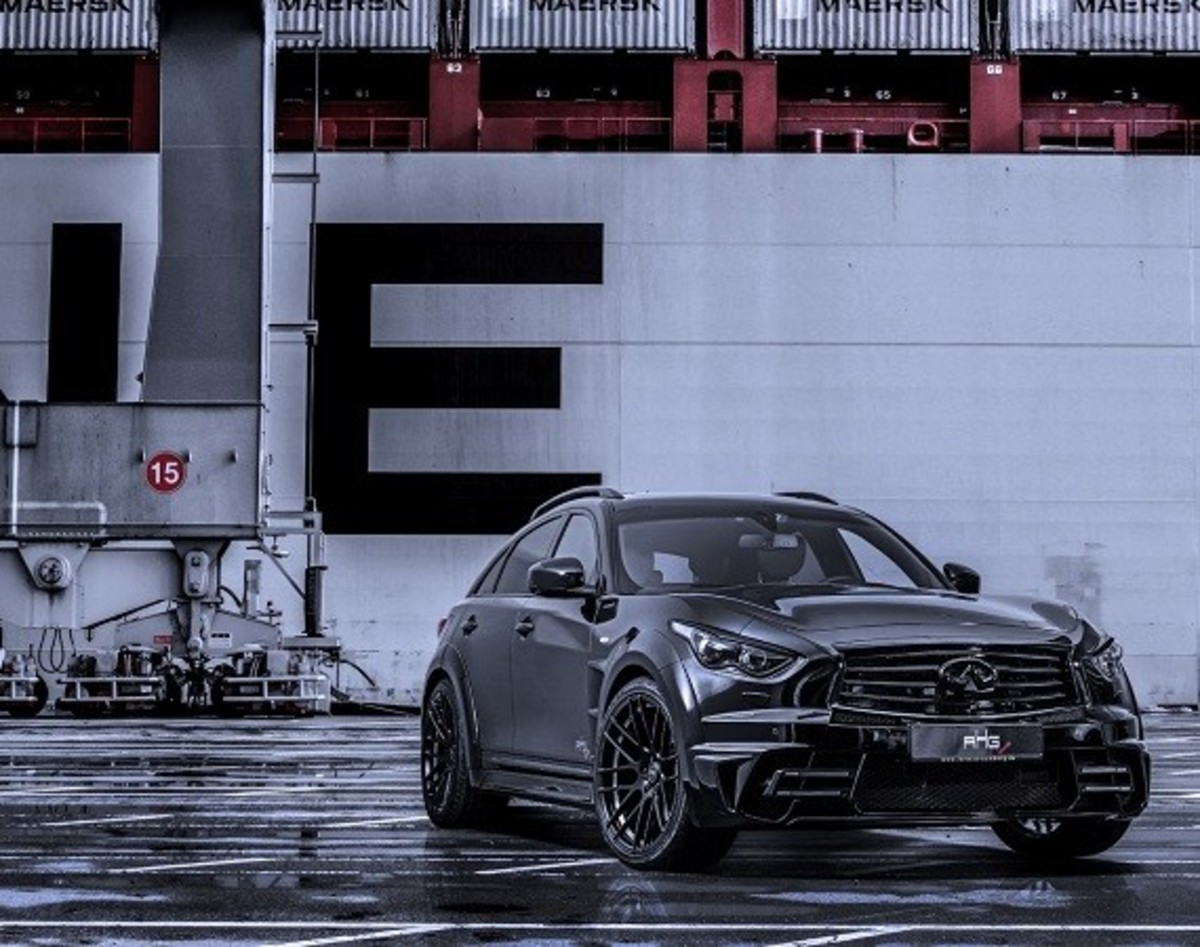Infiniti QX70 LR3 Wide Body Tuned by AHG-Sports - 0