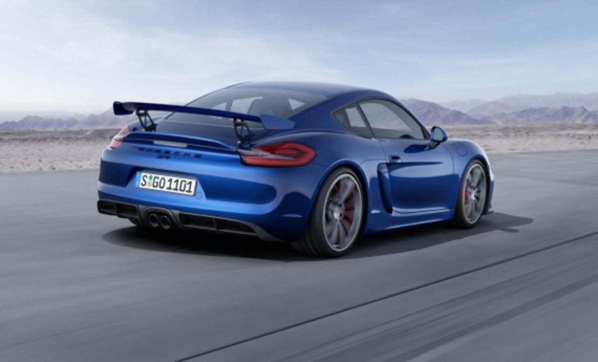 Porsche Cayman GT4 Unveiled with 385-HP - 5