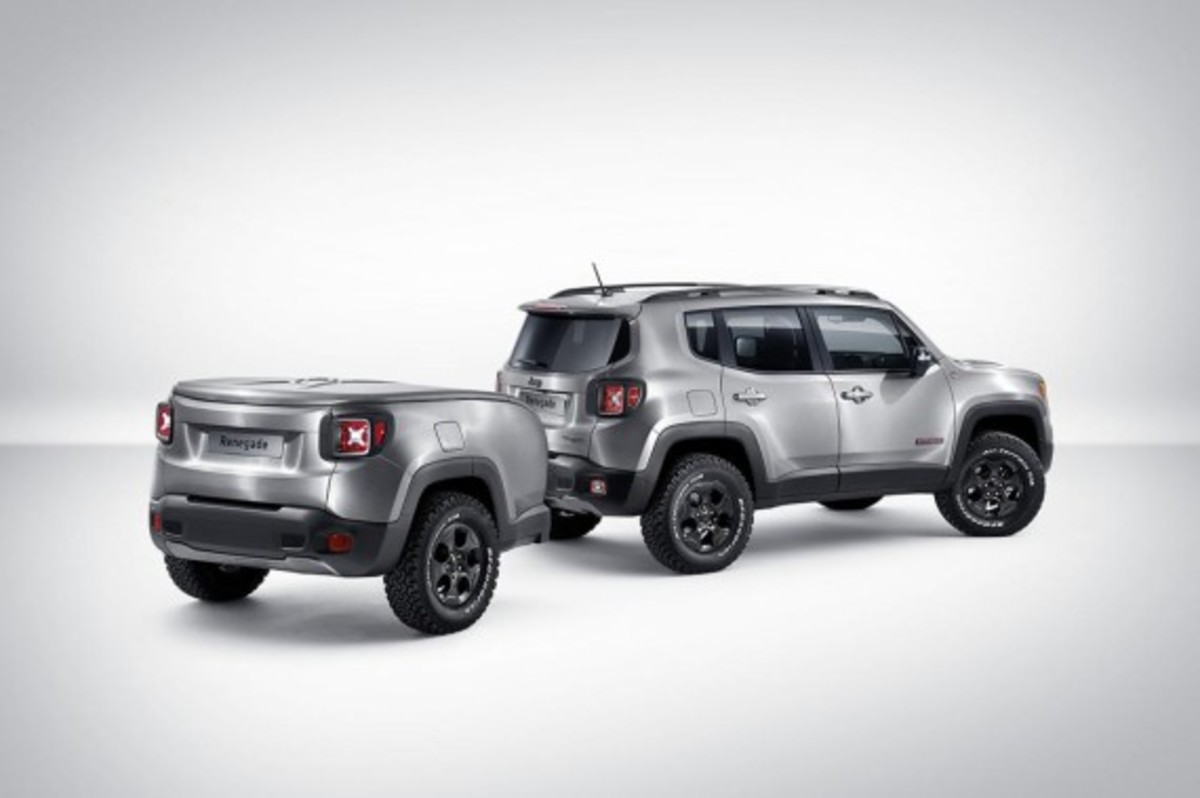 Jeep Renegade Hard Steel Concept - Unveiled - 1