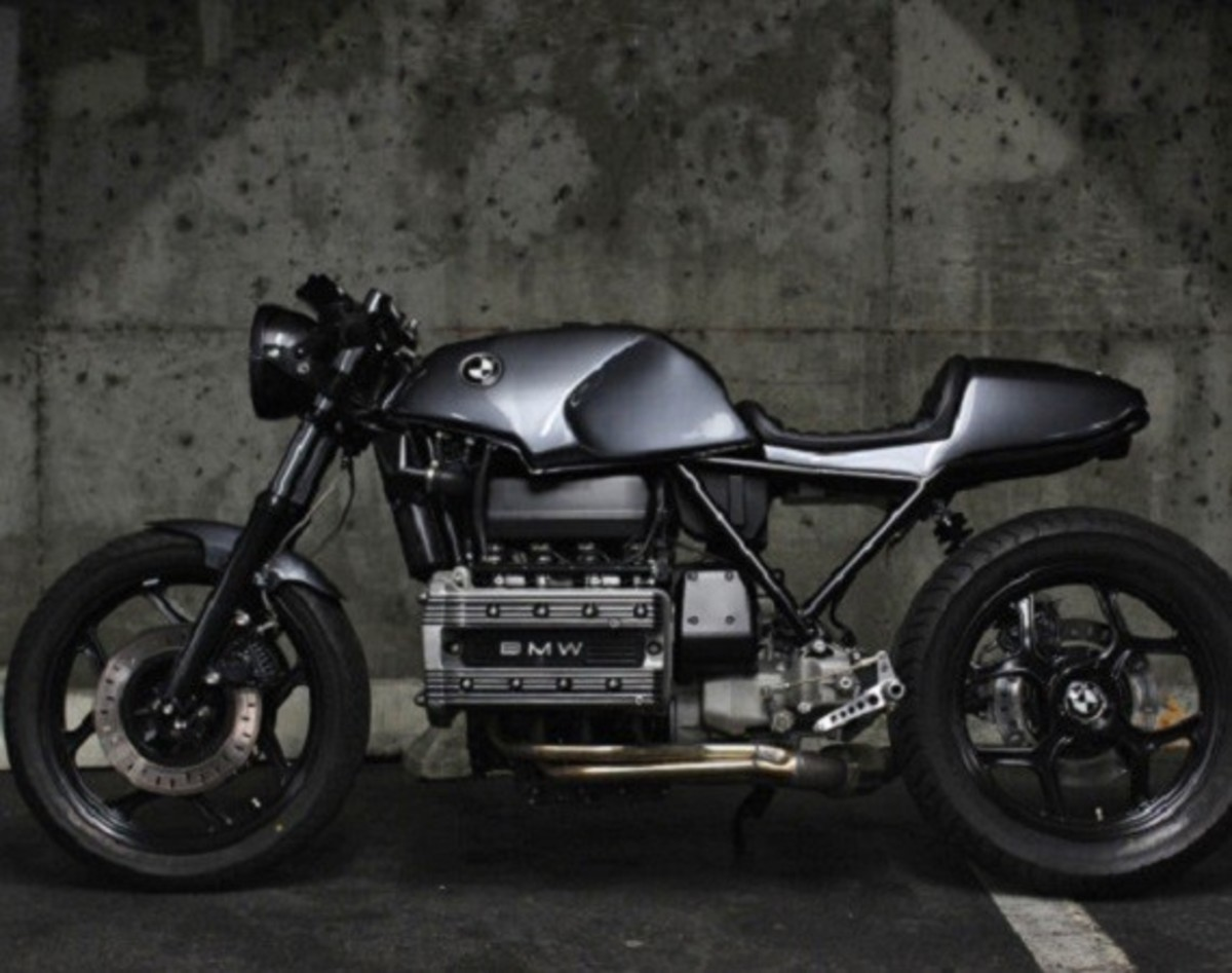 Custom BMW K100 Cafe Racer by Jeff Veraldi - 0
