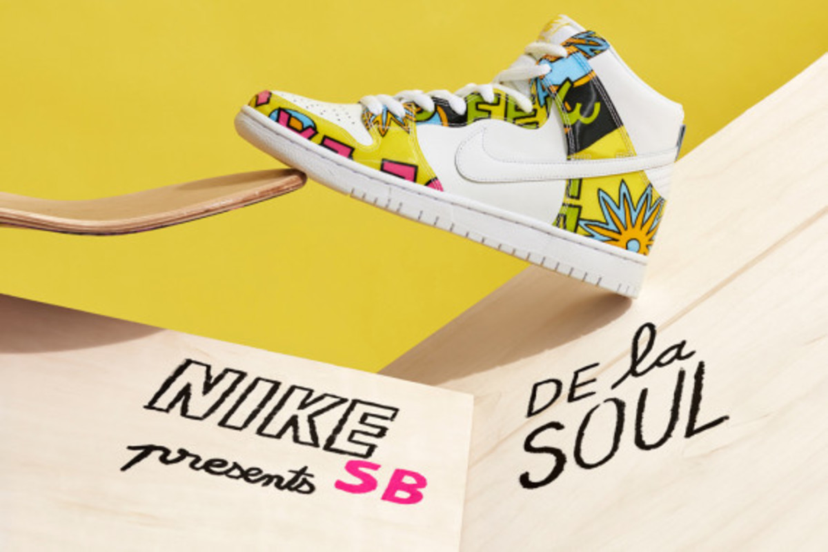 photos officielles 8ccac 0a866 Nike SB x De La Soul Collection - Freshness Mag