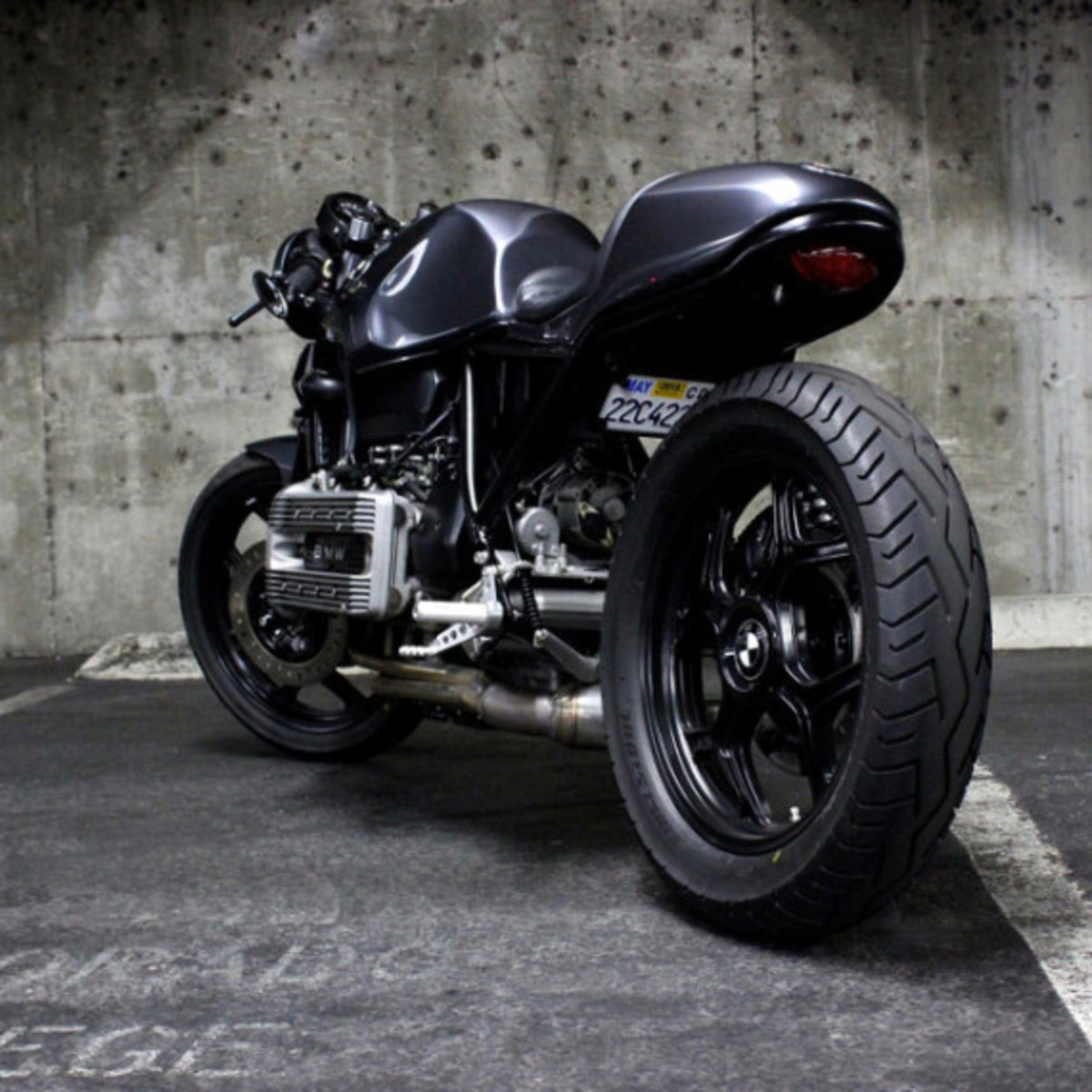 Custom BMW K100 Cafe Racer by Jeff Veraldi - 7