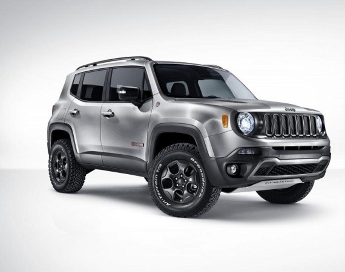 Jeep Renegade Hard Steel Concept - Unveiled - 0