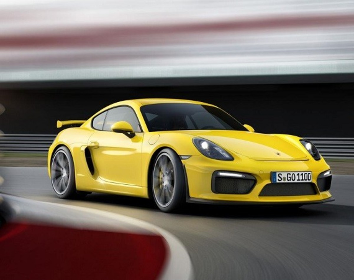 Porsche Cayman GT4 Unveiled with 385-HP - 0