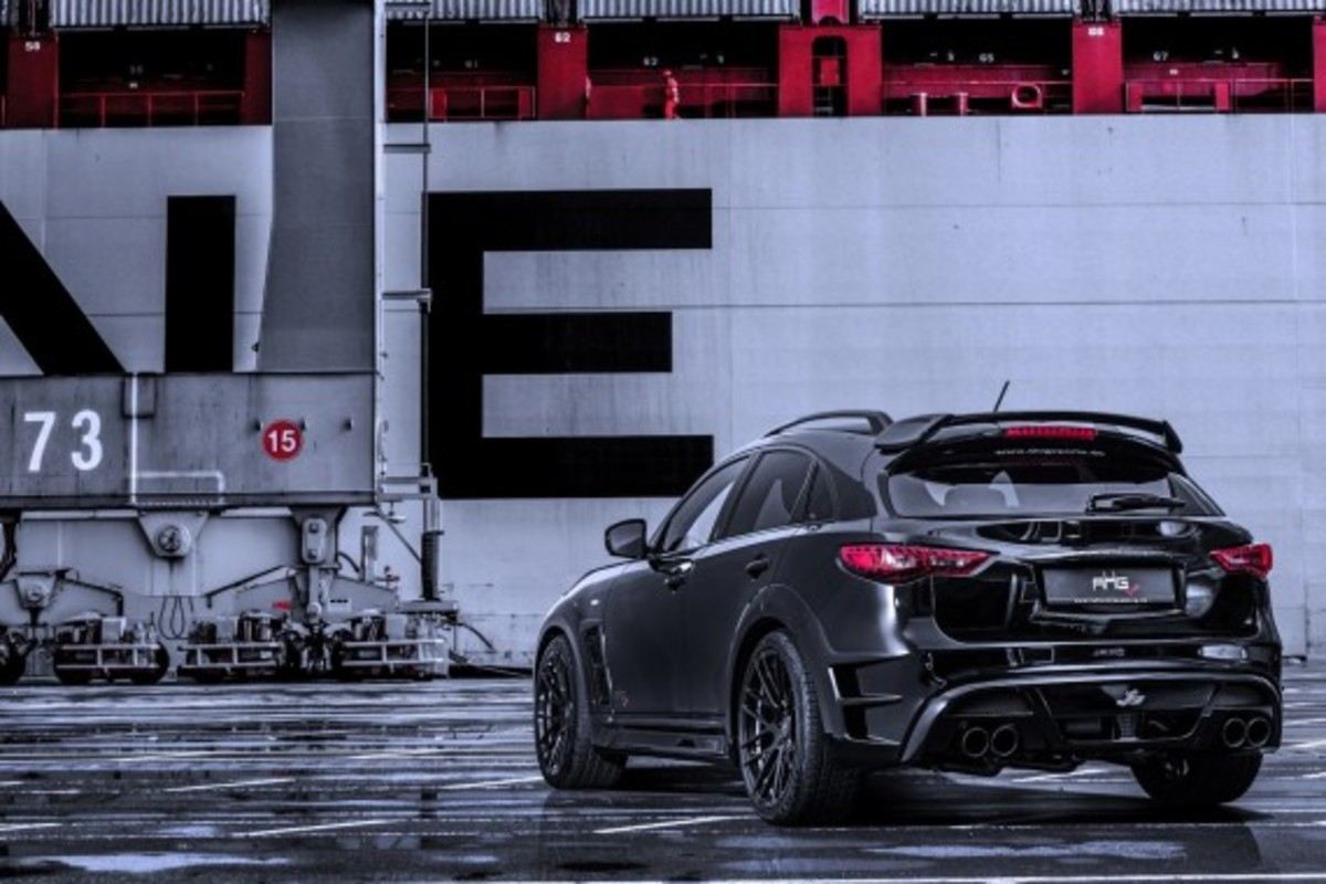 Infiniti QX70 LR3 Wide Body Tuned by AHG-Sports - 4
