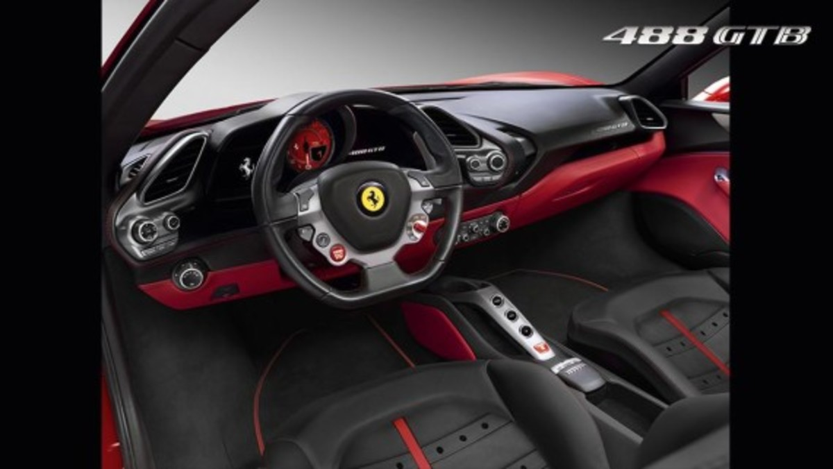 Ferrari 488 GTB Unveiled with Twin-turbo V8 - 5