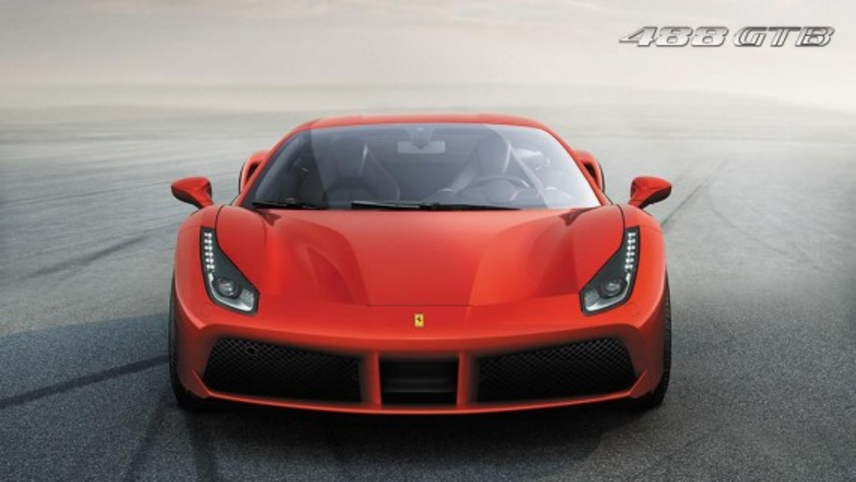 Ferrari 488 GTB Unveiled with Twin-turbo V8 - 7