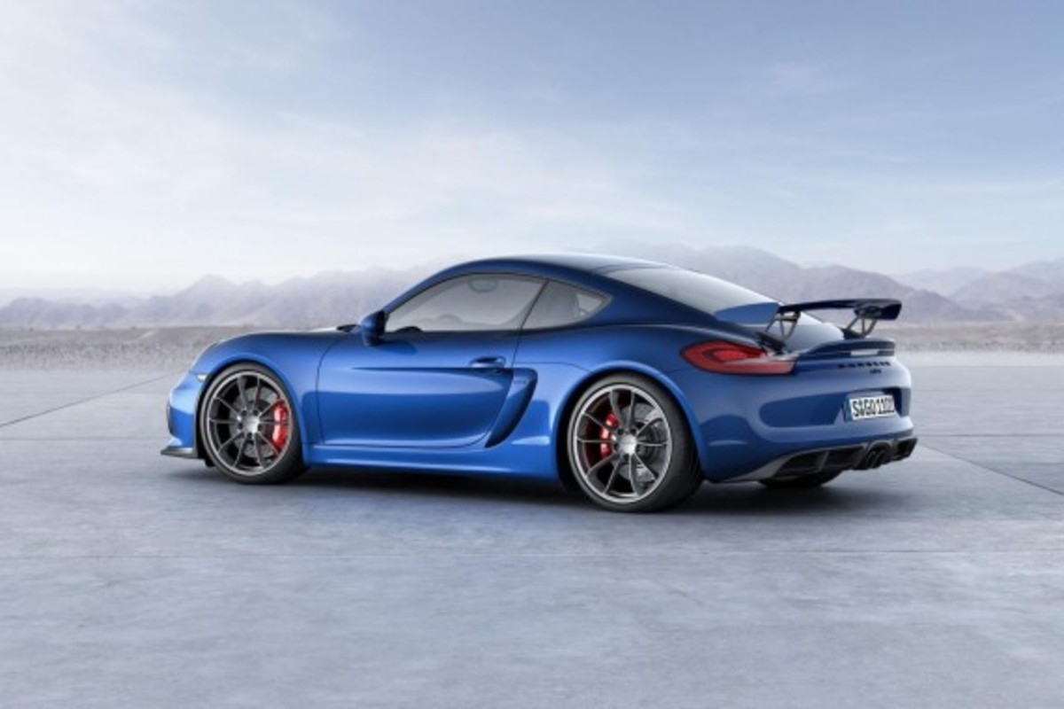 Porsche Cayman GT4 Unveiled with 385-HP - 6