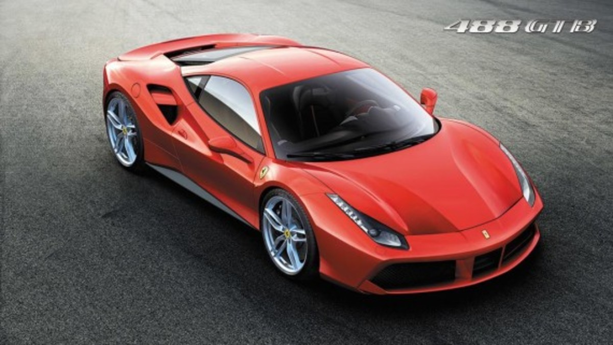 Ferrari 488 GTB Unveiled with Twin-turbo V8 - 1