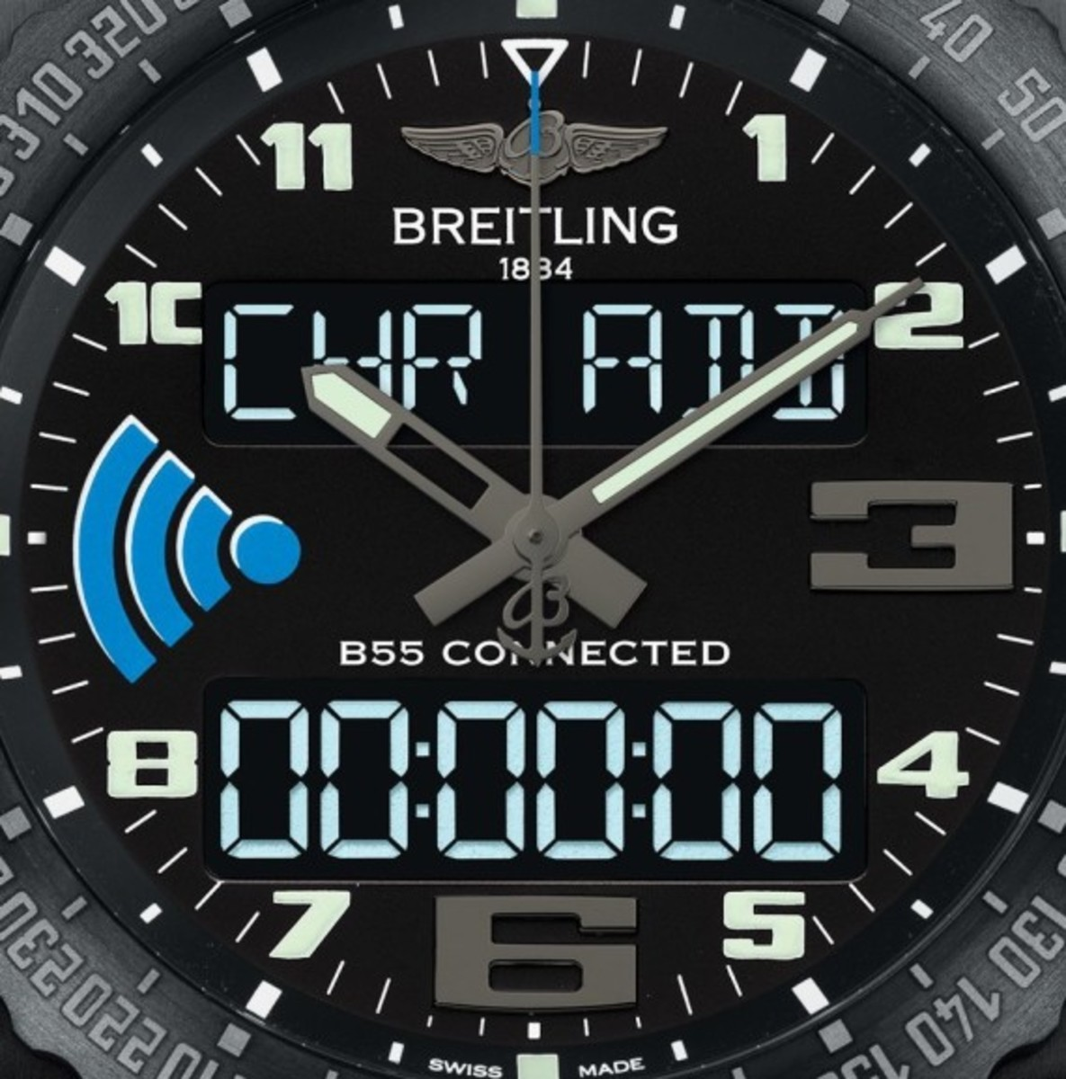 Breitling B55 Connected Watch Pairs with your Phone - 3