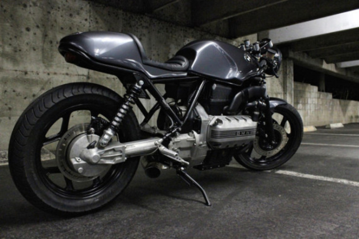 Custom BMW K100 Cafe Racer by Jeff Veraldi - 6
