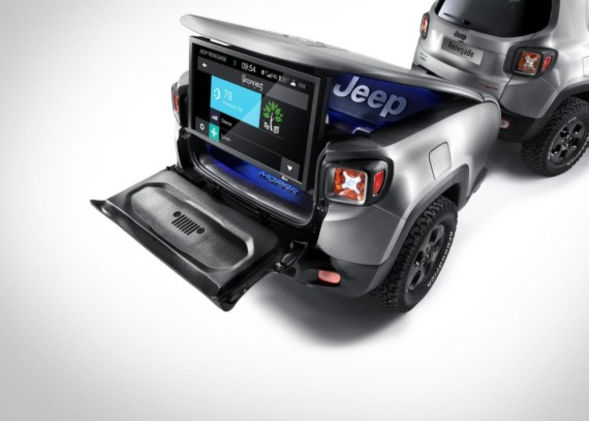 Jeep Renegade Hard Steel Concept - Unveiled - 4