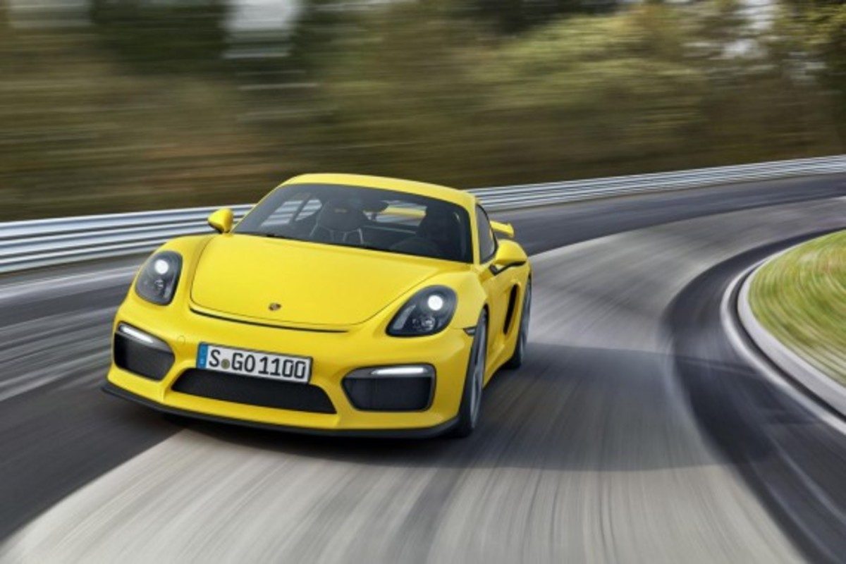Porsche Cayman GT4 Unveiled with 385-HP - 1