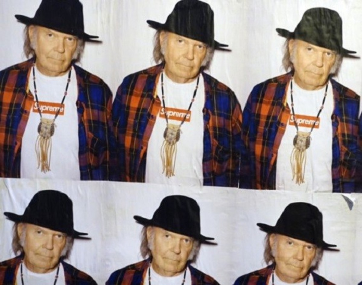 Neil Young X Supreme Poster - 0