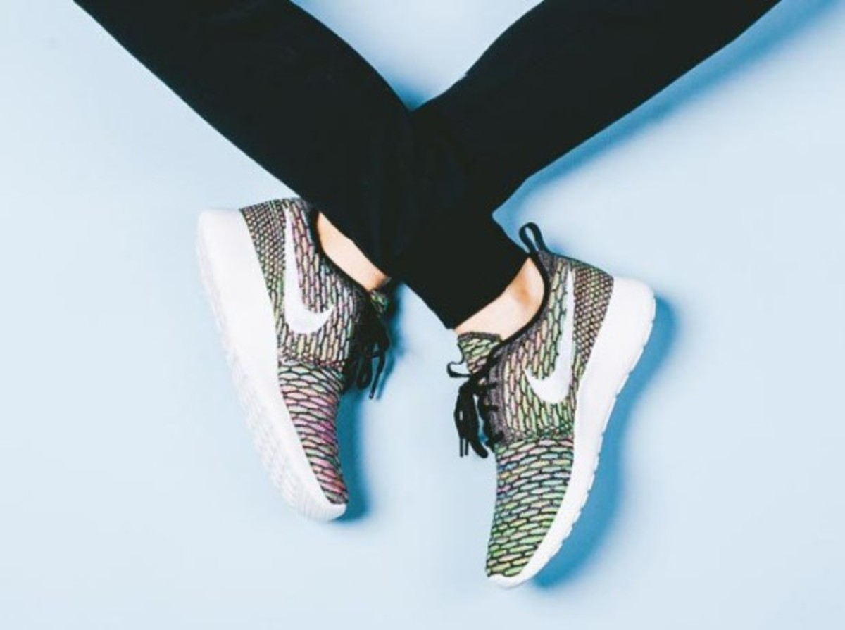 "Nike Women's Flyknit Roshe Run ""Multi Color"" - Now Available - 1"