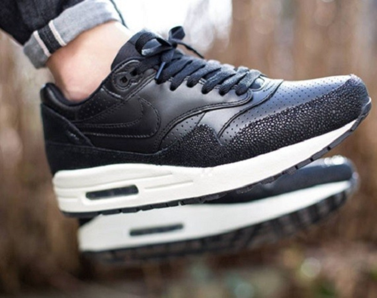 """Nike Air Max 1 Leather """"Caviar"""" - Now Available - 0"""