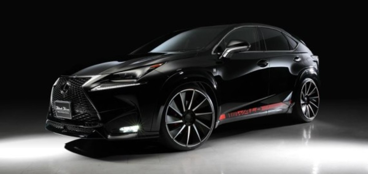 Lexus NX - Tuned by Wald International - 3