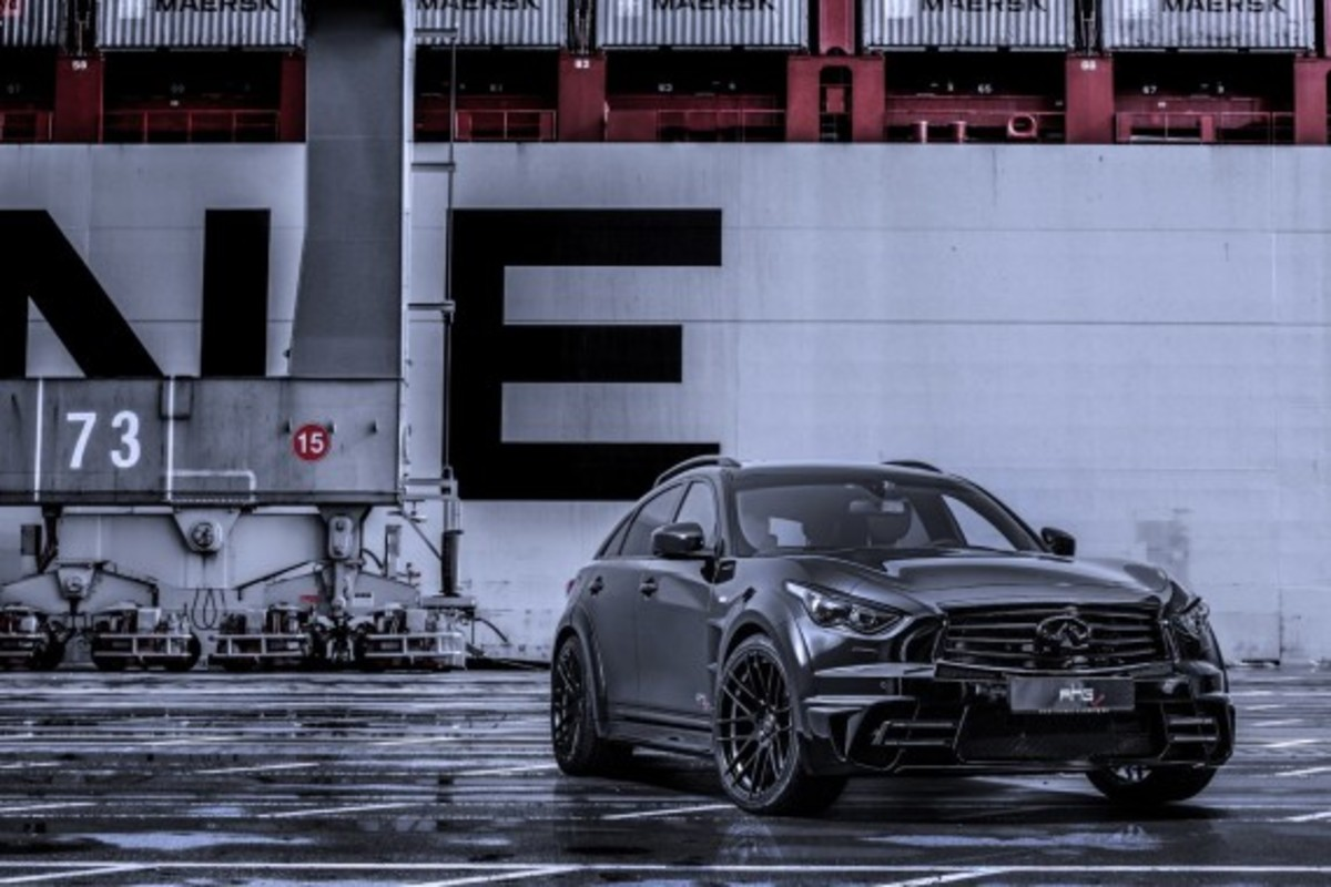Infiniti QX70 LR3 Wide Body Tuned by AHG-Sports - 3