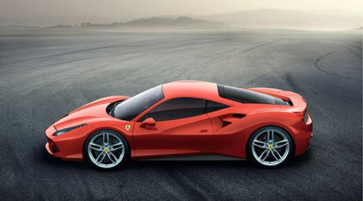 Ferrari 488 GTB Unveiled with Twin-turbo V8 - 9