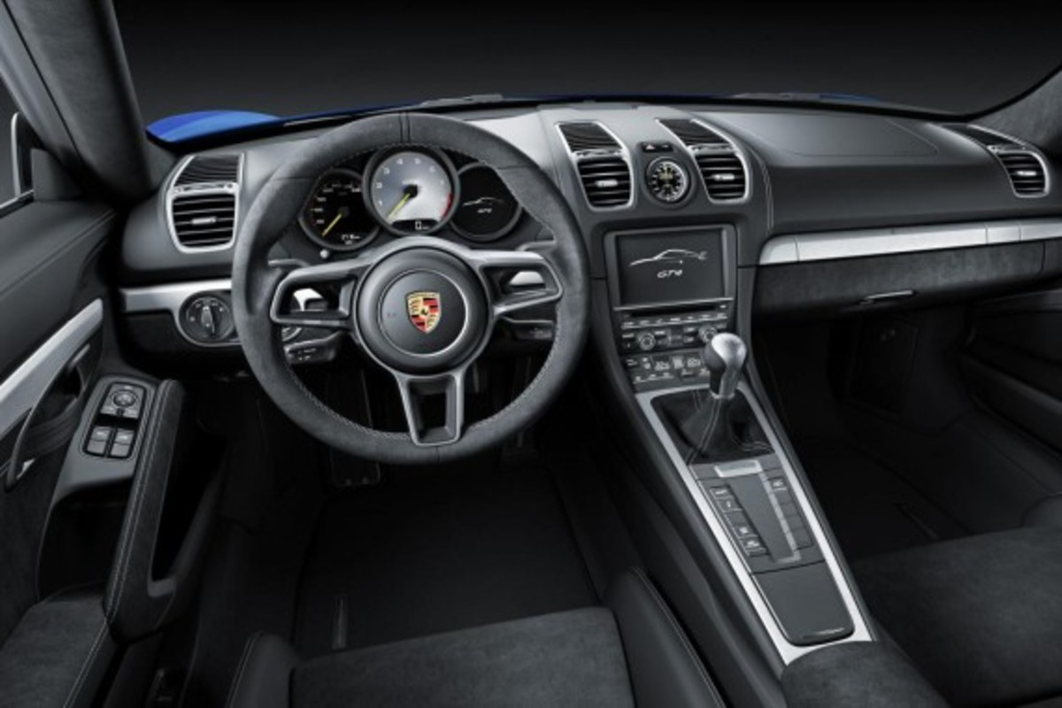 Porsche Cayman GT4 Unveiled with 385-HP - 9